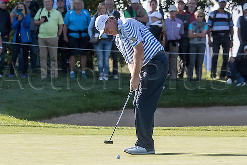 22.09.2016. Bad Griesbach, Germany, PGA European Tour, round 1.   Ernie Els of South Africa in action at the European Tour - European Open in golf in Bad Griesbach, Germany, 22 September 2016.