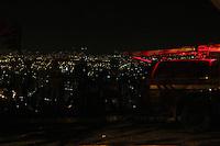 BELO HORIZONTE, MG,14.10.2015 - BELO HORIZONTE, MG,14.10.2015 - FOGO - Corpo de Bombeiros Militar de Minas Gerais, controla o fogo que se espalhou pela Serra do Curral, em Belo Horizonte , na madrugada desta quarta-feira, 14. (Foto: Doug Patricio / Brazil Photo Press)