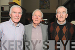 'MEN OF THE RÁS': Past winners of Ras who joined their colleagues last week for a gathering of the men of the Ras 60 years on in the Sneem hotel, l-r: Brian Connaughton 1969, Paudie Fitzgerald 1956, Mick Murphy 1958, Gene Mangan 1955 and John Mangan 1972.