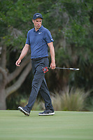 Ross Fisher (ENG) looks over his putt on 2 during round 3 of The Players Championship, TPC Sawgrass, at Ponte Vedra, Florida, USA. 5/12/2018.<br /> Picture: Golffile | Ken Murray<br /> <br /> <br /> All photo usage must carry mandatory copyright credit (&copy; Golffile | Ken Murray)