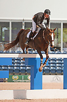 Combina ridden by Kirsten oe, USEF trials#2 Wellington Florida. 3-22-2012
