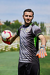 Stole Dimitrievski during his Official presentation as new player of Rayo Vallecano at Ciudad Deportiva Rayo Vallecano in Madrid, Spain. September 11, 2018. (ALTERPHOTOS/A. Perez Meca)