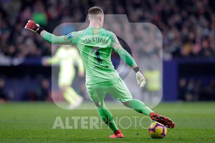 Futbol Club Barcelona's Marc-Andre Ter Stegen  during La Liga match. November 24,2018. (ALTERPHOTOS/Alconada)