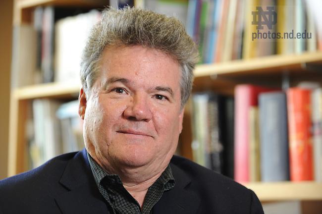 Professor John Welle for Alumni travel catalog