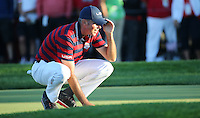 Matt Kuchar (Team USA) during the Saturday Afternoon Four-Balls, at the 41st Ryder Cup 2016, at Hazeltine National Golf Club, Minnesota, USA.  01View of the 10th2016. Picture: David Lloyd | Golffile.