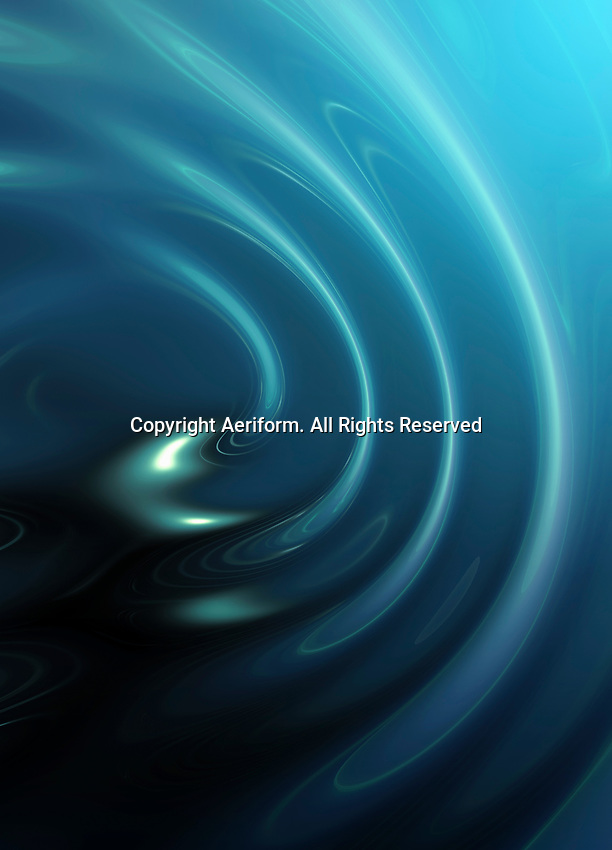 Abstract blue ripple pattern