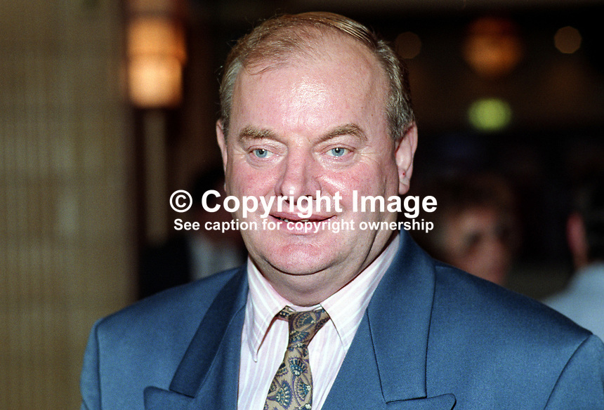 James Wray, MP, Labour Party, politician, UK, 19921007JW.<br />