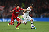 Tottenham Hotspur's Harry Winks and Bayern Munich's Joshua Kimmich<br /> <br /> Photographer Rob Newell/CameraSport<br /> <br /> UEFA Champions League Group B  - Tottenham Hotspur v Bayern Munich - Tuesday 1st October 2019 - White Hart Lane - London<br />  <br /> World Copyright © 2018 CameraSport. All rights reserved. 43 Linden Ave. Countesthorpe. Leicester. England. LE8 5PG - Tel: +44 (0) 116 277 4147 - admin@camerasport.com - www.camerasport.com