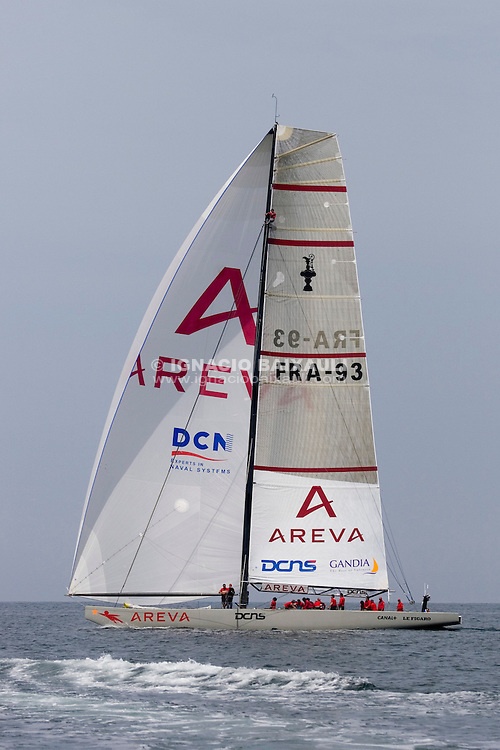 Areva Challenge -  - LOUIS VUITTON CUP - ROUND ROBIN 1 - DAY 1,2,3,4,6,8 - Races cancelled - 2007 abr 16