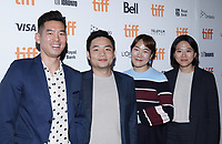 """TORONTO, ONTARIO - SEPTEMBER 08: Fred Lee, Francis Chung, Jihyun Ok, Mina Hwang attends """"Endings, Beginnings"""" premiere during the 2019 Toronto International Film Festival at Ryerson Theatre on September 08, 2019 in Toronto, Canada. <br /> CAP/MPI/IS/PICJER<br /> ©PICJER/IS/MPI/Capital Pictures"""
