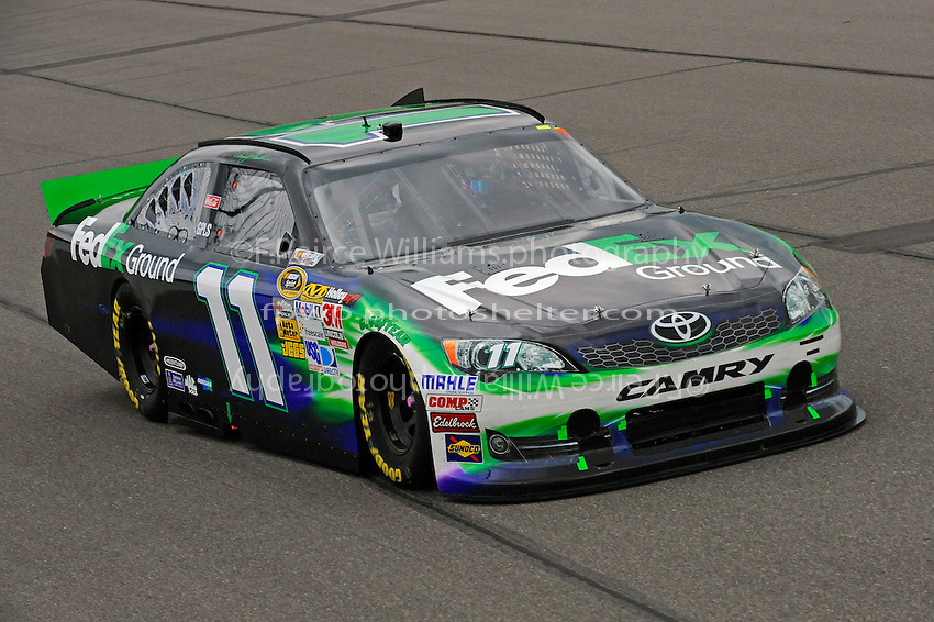 Denny Hamlin, (#11) FedEx Ground Camry