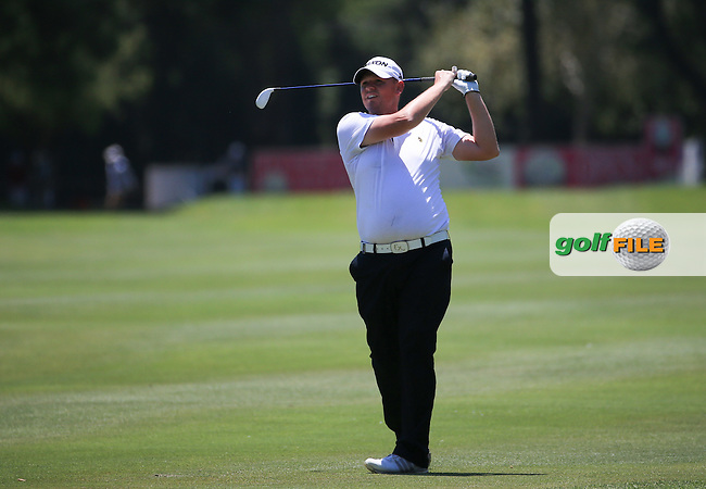 Jamie McLeary (SCO) in action during Round Three of the 2016 Tshwane Open, played at the Pretoria Country Club, Waterkloof, Pretoria, South Africa.  13/02/2016. Picture: Golffile | David Lloyd<br /> <br /> All photos usage must carry mandatory copyright credit (&copy; Golffile | David Lloyd)