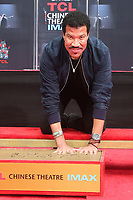 HOLLYWOOD, CA - MARCH 7: Lionel Richie pictured at his TCL Hand And Footprints Ceremony At The TCL Chinese Theatre IMAX In Hollywood, California on March 7, 2018. <br /> CAP/MPI/FS<br /> &copy;FS/MPI/Capital Pictures