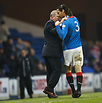 Ally McCoist and Bilel Mohsni
