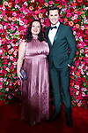 NEW YORK, NY - JUNE 10:  Dorota Kishlovsky and Andrew Rannells attend the 72nd Annual Tony Awards at Radio City Music Hall on June 10, 2018 in New York City.  (Photo by Walter McBride/WireImage)