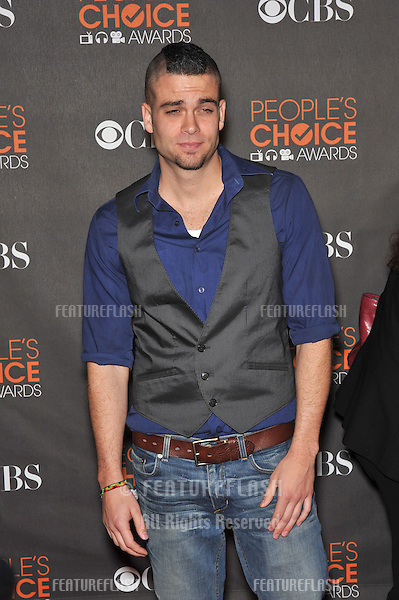 """""""Glee"""" star Mark Salling at the 2010 People's Choice Awards at the Nokia Theatre L.A. Live in Los Angeles..January 6, 2010  Los Angeles, CA.Picture: Paul Smith / Featureflash"""
