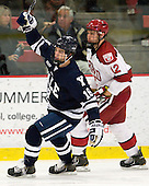 Kenny Agostino (Yale - 18) (Rempel) - The Yale University Bulldogs defeated the Harvard University Crimson 5-1 on Saturday, November 3, 2012, at Bright Hockey Center in Boston, Massachusetts.