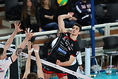 20th March 2018, PalaTrento, Trento, Italy; CEV Volleyball Champions League, playoffs, 1st leg; Trentino Diatec versus Chaumont VB 52 Haute Marne; 6 Wassim Ben Tara TUN