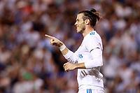 Real Madrid's Gareth Bale celebrates goal during La Liga match. August 20,2017.  *** Local Caption *** © pixathlon +++ tel. +49 - (040) - 22 63 02 60 - mail: info@pixathlon.de