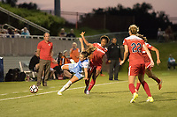 Boyds, MD - Saturday June 03, 2017: Andressa Cavalari Machry, Francisca Ordega during a regular season National Women's Soccer League (NWSL) match between the Washington Spirit and Houston Dash at Maureen Hendricks Field, Maryland SoccerPlex.