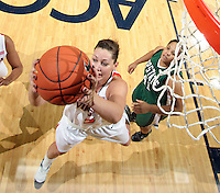 Virginia Cavalier's Erin Thompson.  (Photo/Andrew Shurtleff)