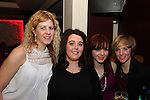 Martina Conroy, Sahauna Reynolds, Hannah Conroy and Jessica Browne having a night in Barroco.<br /> Picture: Shane Maguire / www.newsfile.ie