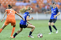 Houston, TX - Sunday August 13, 2017:  Brittany Ratcliffe during a regular season National Women's Soccer League (NWSL) match between the Houston Dash and FC Kansas City at BBVA Compass Stadium.