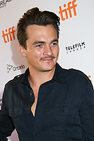 RUPERT FRIEND - RED CARPET OF THE FILM 'THE DEATH OF STALIN' - 42ND TORONTO INTERNATIONAL FILM FESTIVAL 2017 . TORONTO, CANADA, 09/09/2017. # FESTIVAL DU FILM DE TORONTO - RED CARPET 'THE DEATH OF STALIN'