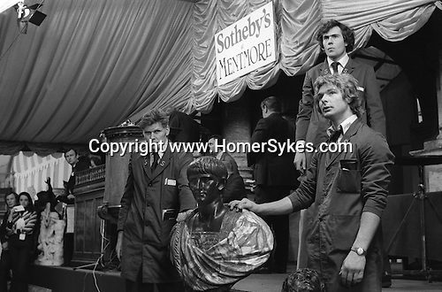Sothebys auction house sale at Mentmore. Buckinghamshire England 1977.