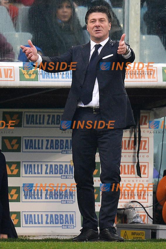 Walter Mazzarri coach Napoli .Firenze 20/01/2013 Stadio Artemio Franchi.Football Calcio 2012/2013 Serie A.Fiorentina Vs Napoli 1-1.Foto Andrea Staccioli Insidefoto