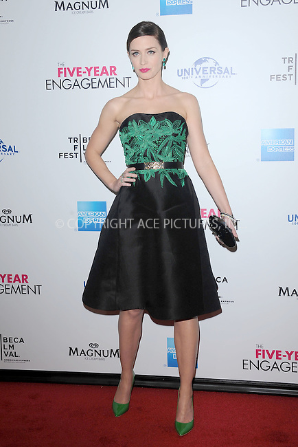"WWW.ACEPIXS.COM . . . . . .April 18, 2012...New York City....Emily Blunt arriving to the Universal Pictures premiere of ""The Five Year Engagement"" for the opening of the Tribeca Film Festival at the Ziegfeld Theatre on April 18, 2012  in New York City ....Please byline: KRISTIN CALLAHAN - ACEPIXS.COM.. . . . . . ..Ace Pictures, Inc: ..tel: (212) 243 8787 or (646) 769 0430..e-mail: info@acepixs.com..web: http://www.acepixs.com ."