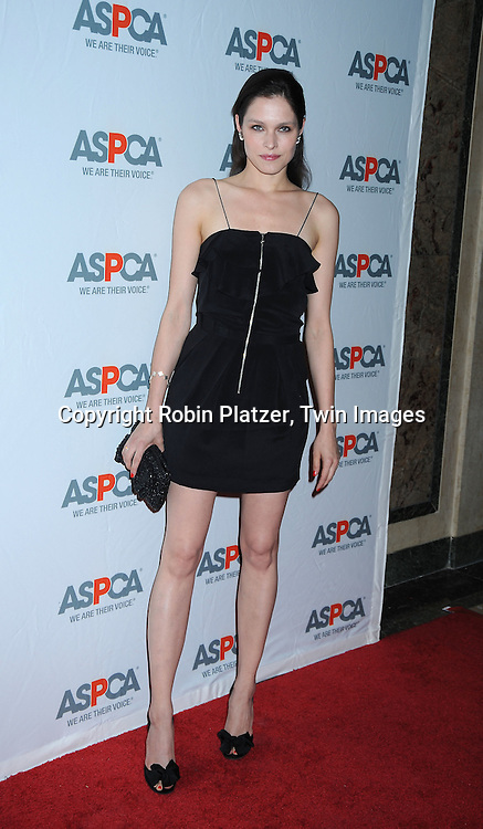 Lonnecke at The 13th Annual ASPCA Bergh Ball at the Plaza Hotel in New York City on April 15, 2010.