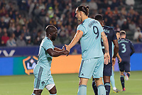 Carson, CA - Friday April 19, 2019: The Los Angeles Galaxy defeated the Houston Dynamo 2-1 in a Major League Soccer (MLS) game at Dignity Health Sports Park.