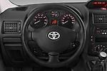 Car pictures of steering wheel view of a 2013 Toyota Proace Comfort 5 Door Cargo Van Steering Wheel