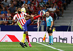 Atletico de Madrid's Thomas Lemar during La Liga match. Aug 18, 2019. (ALTERPHOTOS/Manu R.B.)Atletico de Madrid's Thomas Lemar  during the Spanish La Liga match between Atletico de Madrid and Getafe CF at Wanda Metropolitano Stadium in Madrid, Spain