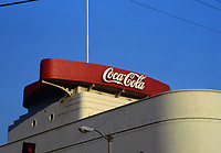 Los Angeles: Coca-Cola Bottling Co. 1334 S. Central Ave., 1936-37. Robert V. Derrah, Arch.  Streamline Moderne.