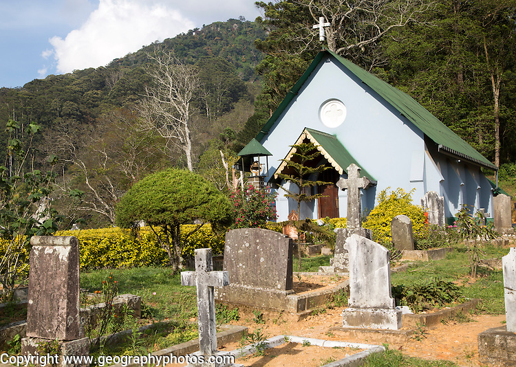 Church of Saint Andrew, Haputale, Badulla District, Uva Province, Sri Lanka, Asia