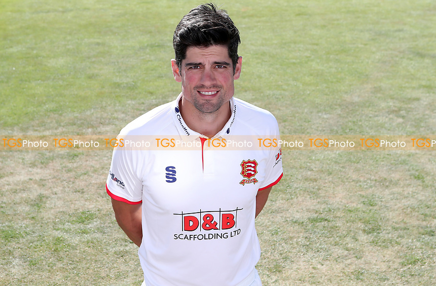 Sir Alastair Cook of Essex during the Essex CCC Press Day at The Cloudfm County Ground on 30th July 2020
