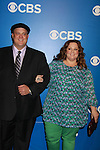 Mike & Molly's Billy Gardell and Melissa McCarthy - CBS Upfront 2012 at the Tent in Lincoln Center, New York City, New York. (Photo by Sue Coflin/Max Photos)