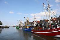 Kutter im Hafen von Neuharlingersiel - 16.08.2018: Fischfang und Rundfahrt von Neuharlingersiel