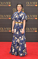 Phoebe Fox at the Olivier Awards 2019, Royal Albert Hall, Kensington Gore, London, England, UK, on Sunday 07th April 2019.<br /> CAP/CAN<br /> ©CAN/Capital Pictures