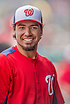 2 March 2013: Washington Nationals infielder Anthony Rendon in the dugout during a Spring Training game against the St. Louis Cardinals at Roger Dean Stadium in Jupiter, Florida. The Nationals defeated the Cardinals 6-2 in their first meeting since the NLDS series in October of 2012. Mandatory Credit: Ed Wolfstein Photo *** RAW (NEF) Image File Available ***