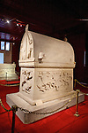 Istanbul Lycian Sarcophagus is from the end of the 5th century BC - Archaeology Museum