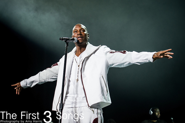 Tyrese with TGT performs at the 2013 Essence Festival at the Mercedes-Benz Superdome in New Orleans, Louisiana.