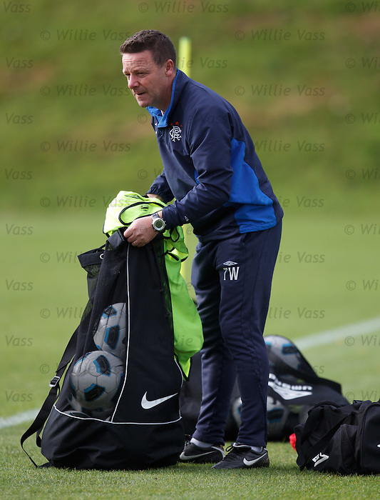 Tommy Wilson at first team training