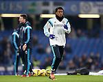Chelsea's Juan Cuadrado warms up<br /> <br /> Barclays Premier League- Chelsea vs Everton  - Stamford Bridge - England - 11th February 2015 - Picture David Klein/Sportimage