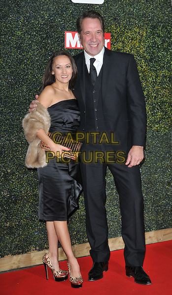 Frankie Poultney &amp; David Seaman attend the Daily Mirror Pride of Sport Awards 2015, Grosvenor House Hotel, Park Lane, London, England, UK, on Wednesday 25 November 2015. <br /> CAP/CAN<br /> &copy;Can Nguyen/Capital Pictures