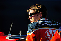 Nov. 7, 2008; Avondale, AZ, USA; NASCAR Sprint Cup Series driver David Ragan during qualifying for the Checker Auto Parts 500 at Phoenix International Raceway. Mandatory Credit: Mark J. Rebilas-