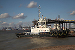 Tug boat, Port of Felixstowe, Suffolk, England