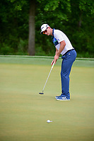 Justin Rose (GBR) watches his putt on 2 during round 3 of the Shell Houston Open, Golf Club of Houston, Houston, Texas, USA. 4/1/2017.<br /> Picture: Golffile | Ken Murray<br /> <br /> <br /> All photo usage must carry mandatory copyright credit (&copy; Golffile | Ken Murray)
